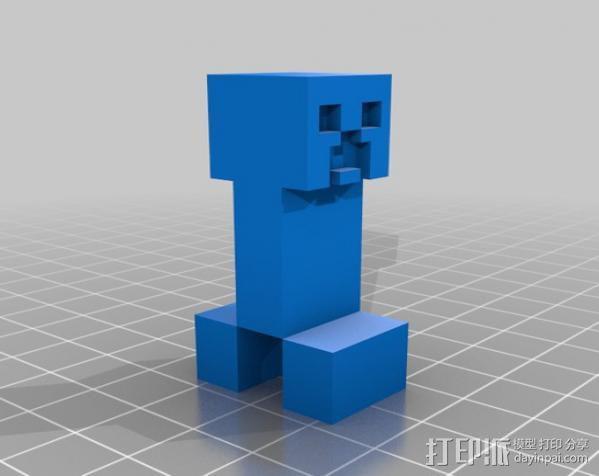 爬行者 3D模型  图1