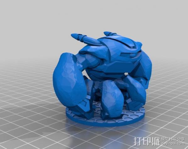 TH1-NK3R机器人 3D模型  图3