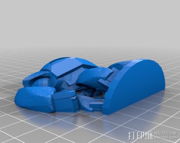 TH1-NK3R机器人 3D模型  图4