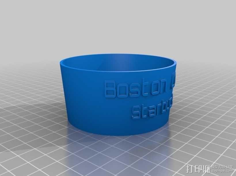 标签圈  3D模型  图1