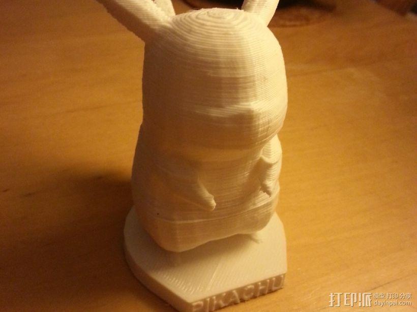 皮卡丘 3D模型  图3