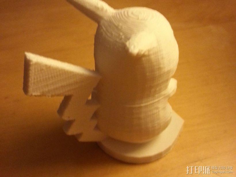 皮卡丘 3D模型  图4