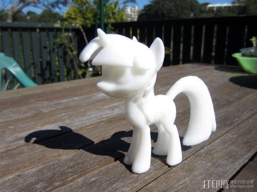 小马驹Twilight Sparkle  3D模型  图1