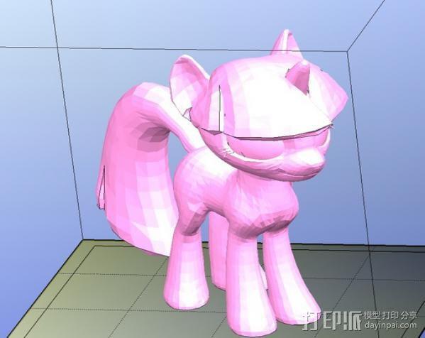 小马驹Twilight Sparkle  3D模型  图2