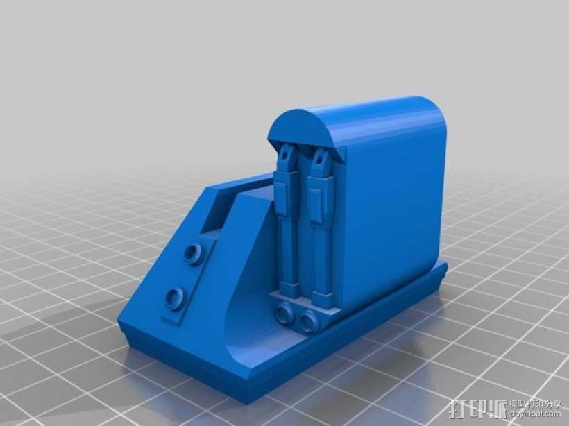 R2D2 机器人 3D模型  图3