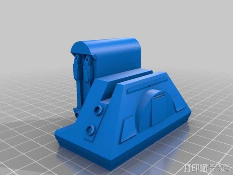 R2D2 机器人 3D模型  图2