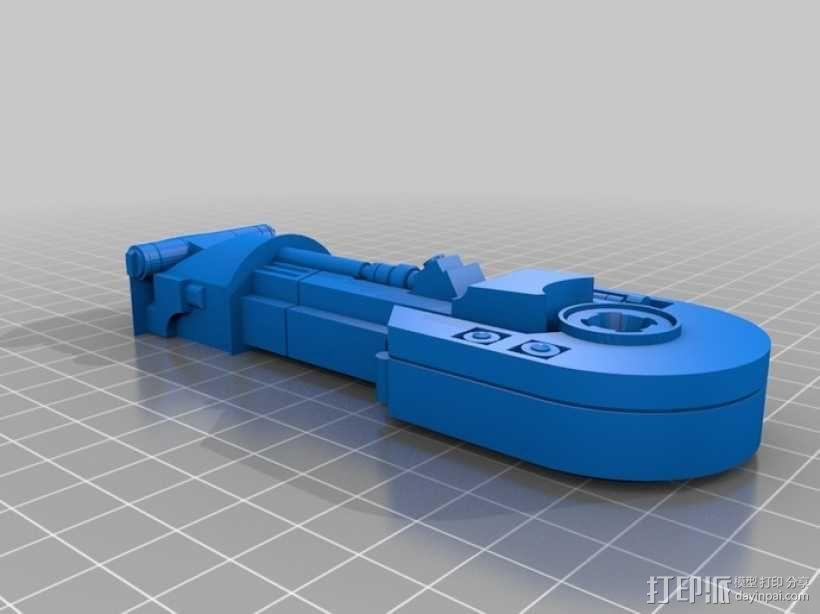R2D2 机器人 3D模型  图4