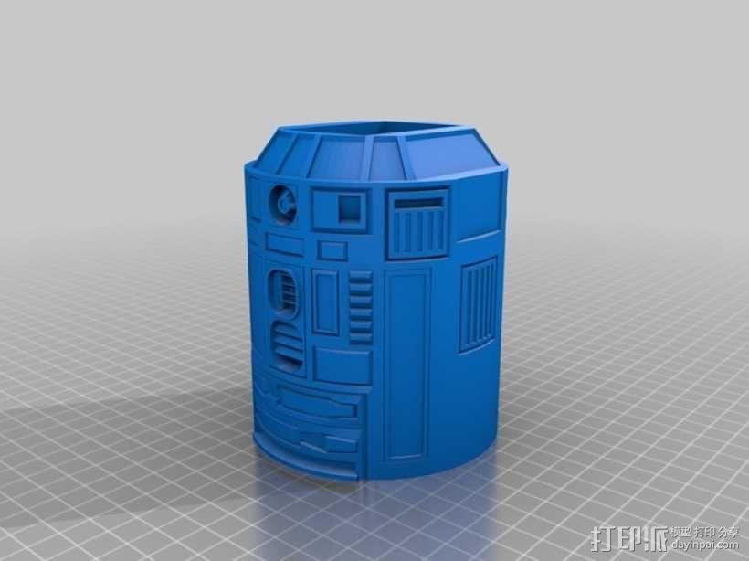 R2D2 机器人 3D模型  图6