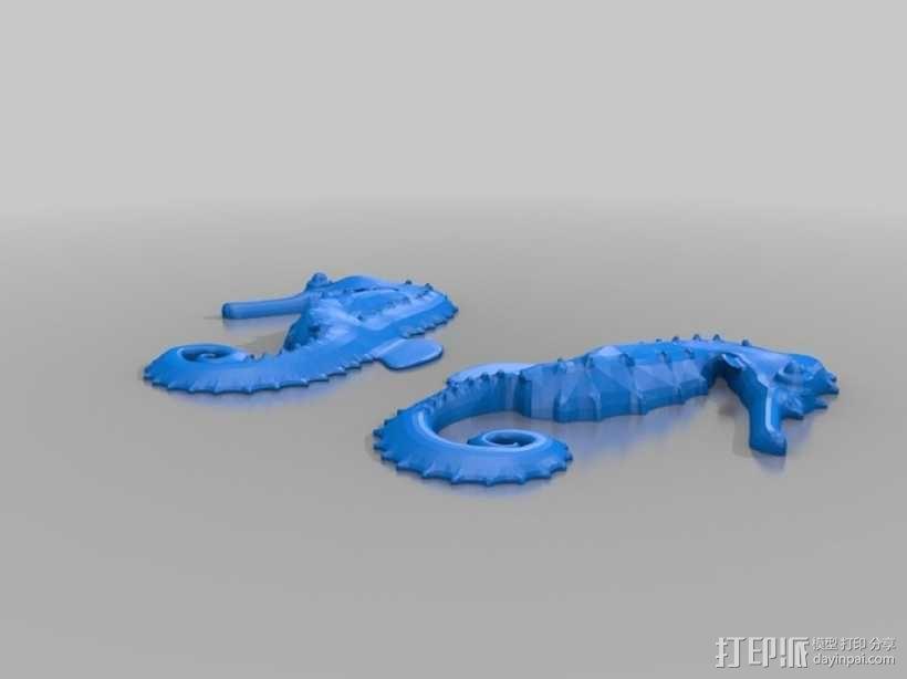 海马 3D模型  图5