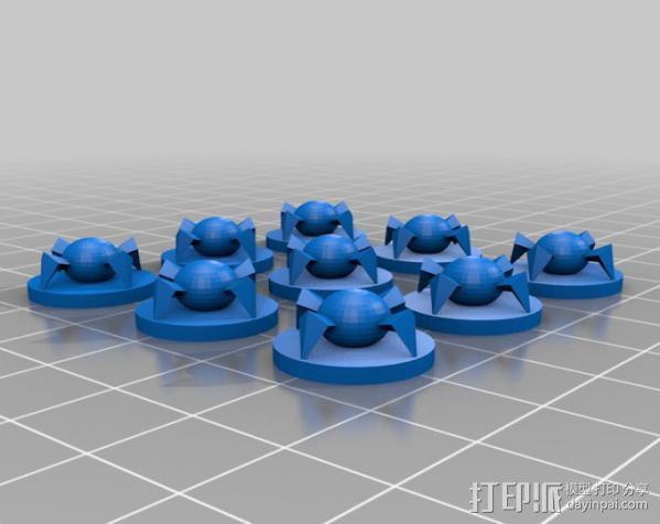 蜘蛛机器人 3D模型  图2