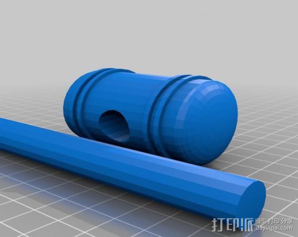 小木槌 3D模型  图1