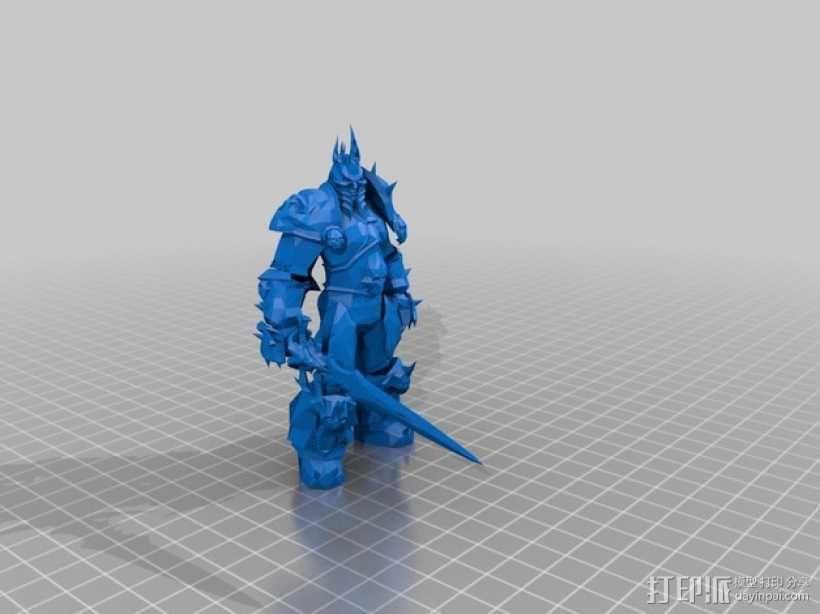 巫妖王 3D模型  图1