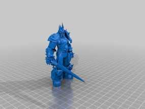 巫妖王 3D模型
