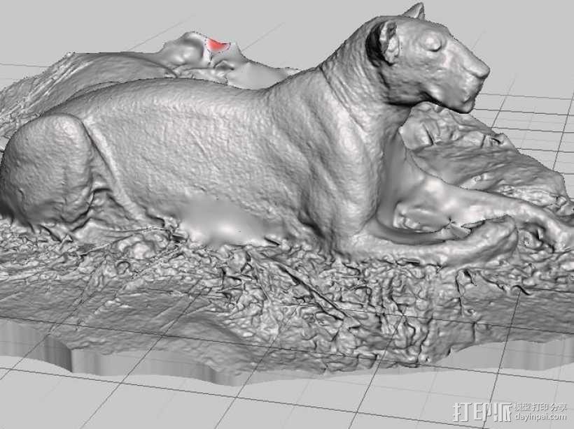 狮子 3D模型  图3