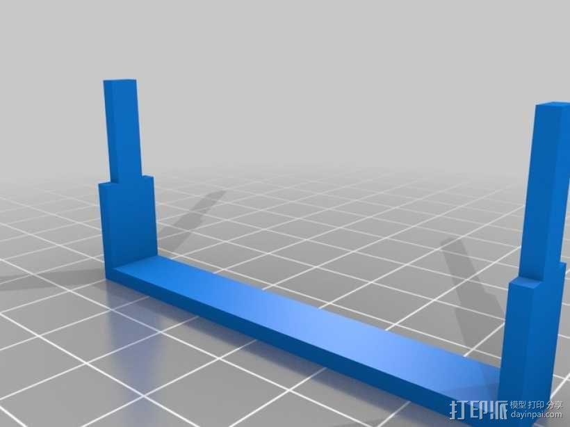 555定时器模型 3D模型  图2
