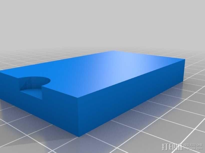 555定时器模型 3D模型  图3