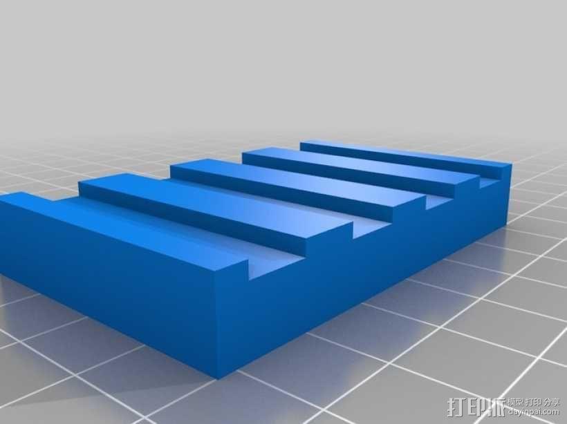 555定时器模型 3D模型  图4