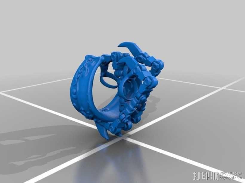 机械爪 3D模型  图1