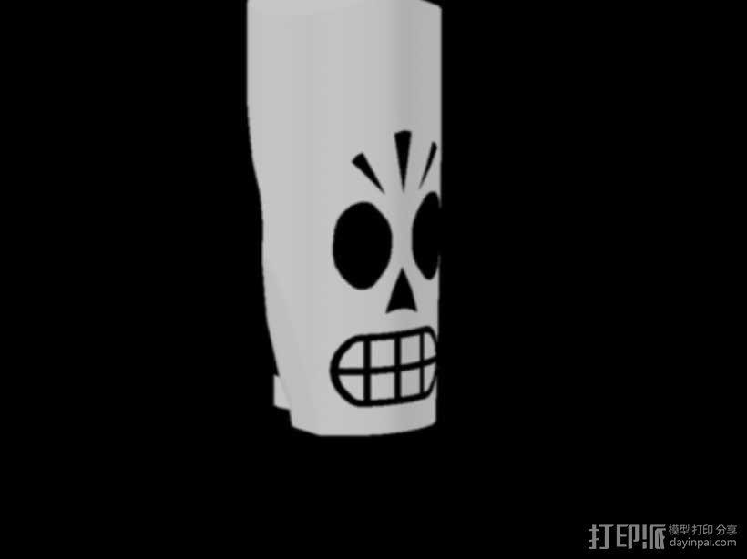 冥界狂想曲 骷髅威拉 3D模型  图3