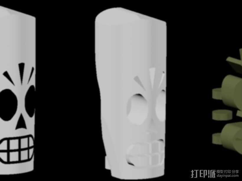 冥界狂想曲 骷髅威拉 3D模型  图5
