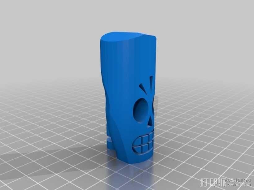 冥界狂想曲 骷髅威拉 3D模型  图6