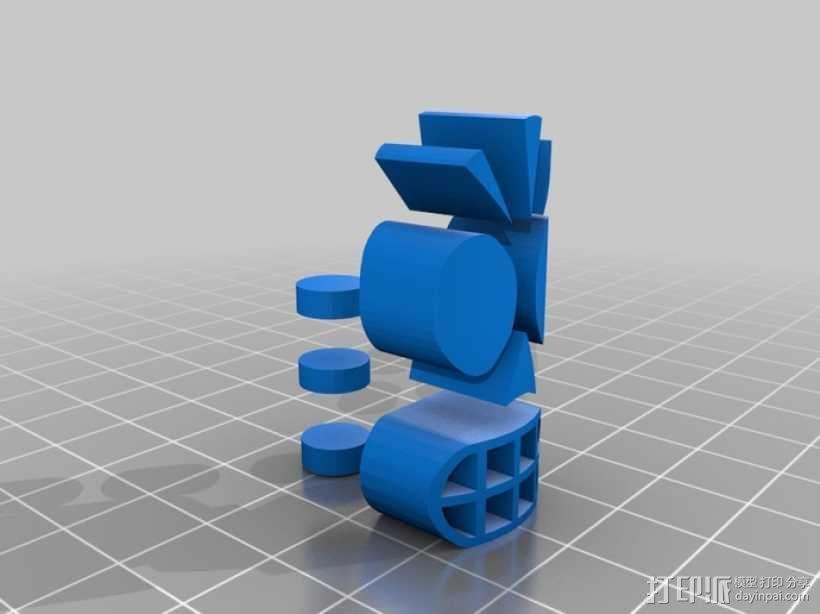 冥界狂想曲 骷髅威拉 3D模型  图7