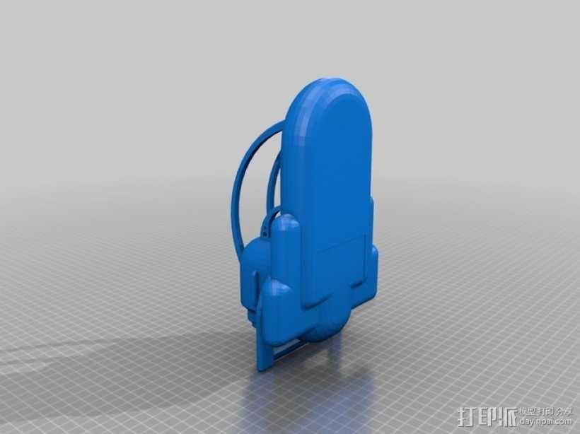 船 快艇 3D模型  图2
