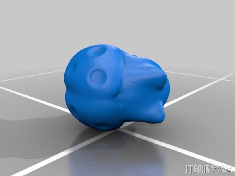 猫咪瓢虫 3D模型  图1