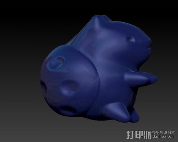 猫咪瓢虫 3D模型  图3