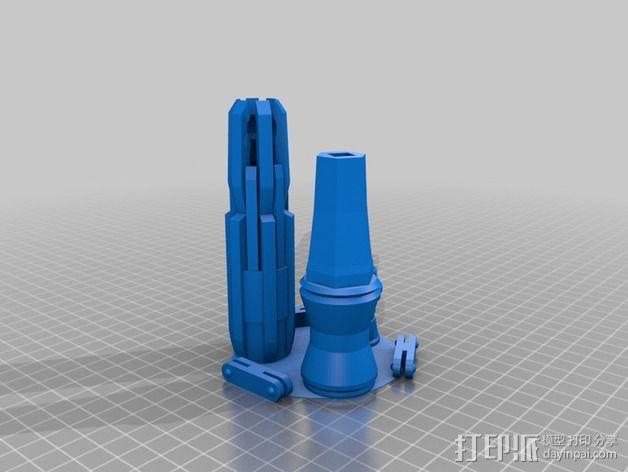神秘博士的音速起子 3D模型  图1