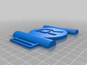 皮带扣 3D模型