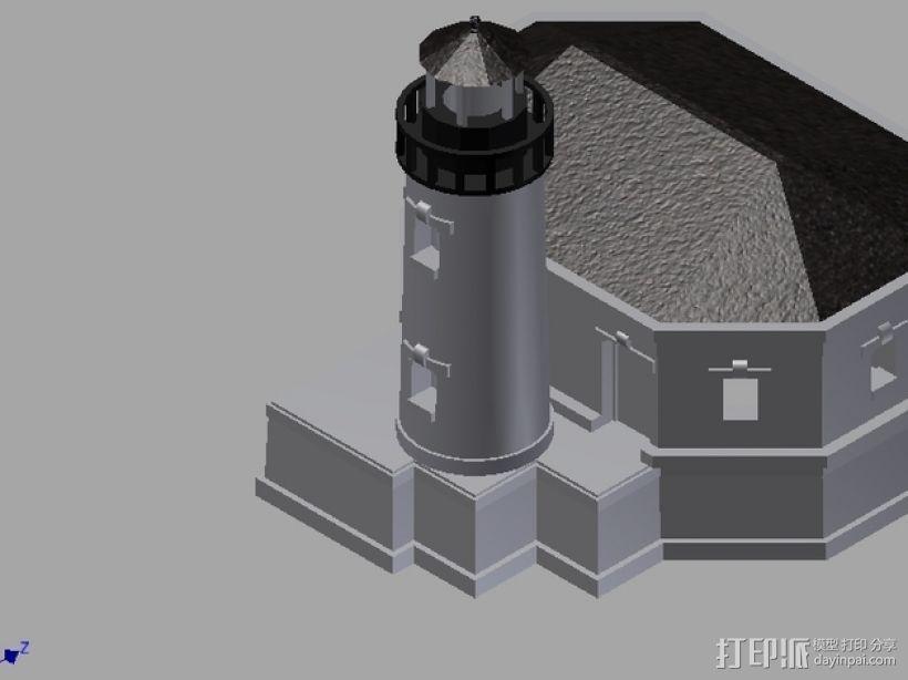 灯塔 3D模型  图3