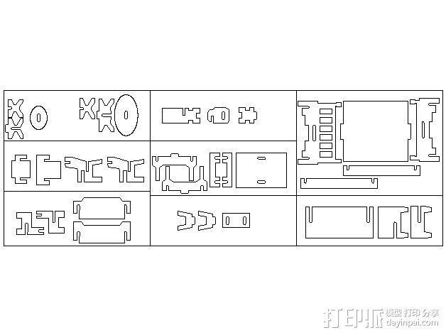 家具模型 3D模型  图1
