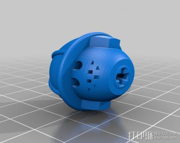 汽车人 3D模型  图2