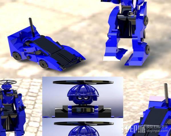 汽车人 3D模型  图22