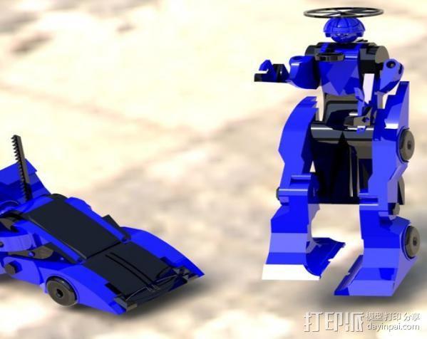 汽车人 3D模型  图27