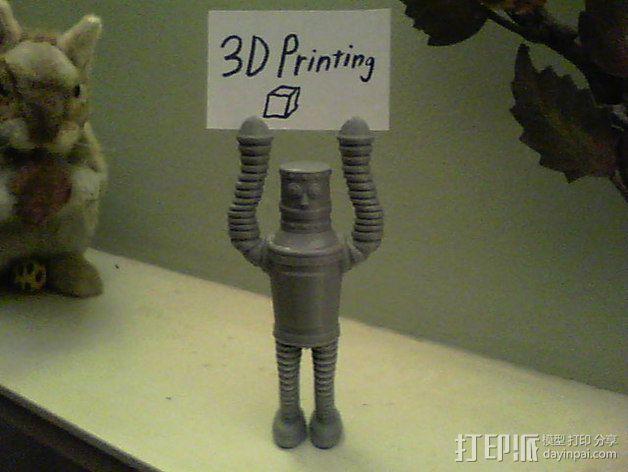 复古机器人 3D模型  图2