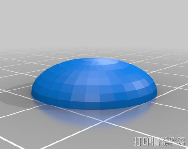 芝士汉堡 3D模型  图5
