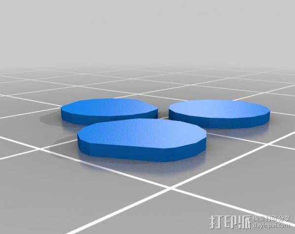 芝士汉堡 3D模型  图7