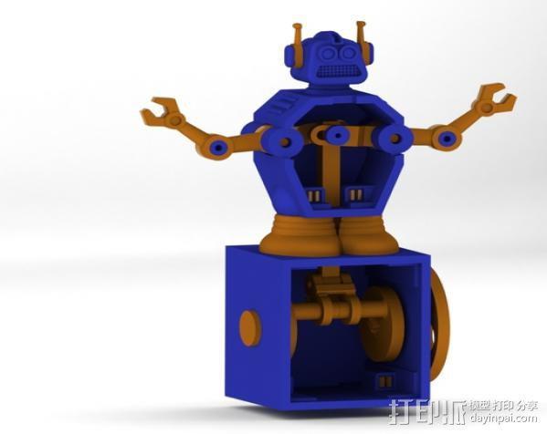 暴躁的机器人 3D模型  图2