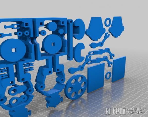 暴躁的机器人 3D模型  图5
