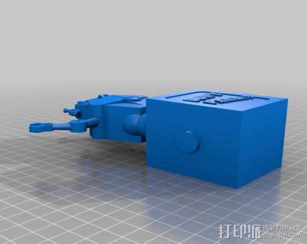 暴躁的机器人 3D模型  图4