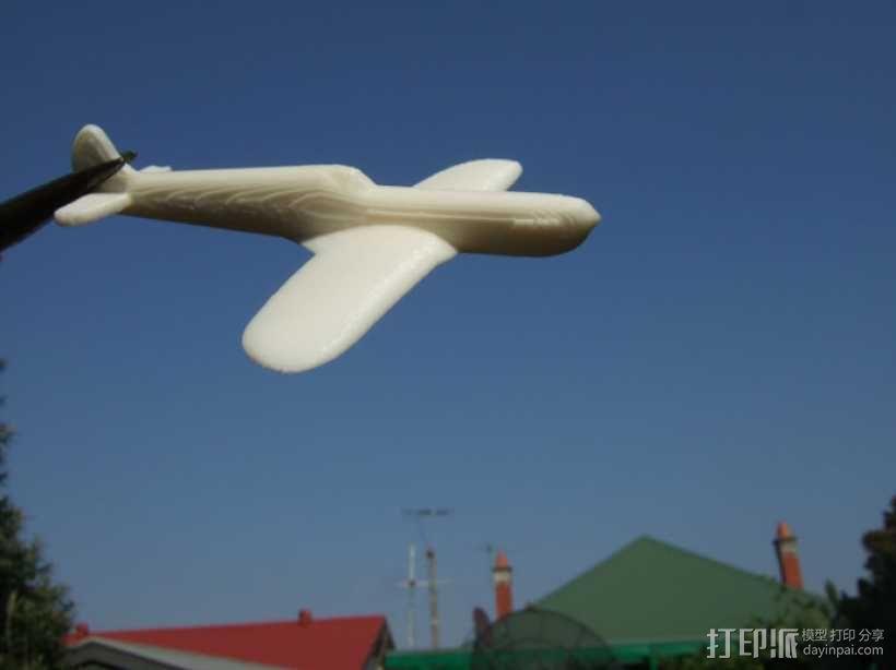 超级马林喷火战斗机 3D模型  图2