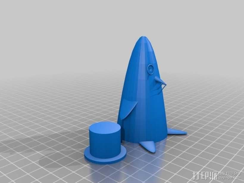 企鹅先生 3D模型  图1
