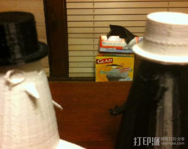 企鹅先生 3D模型  图4