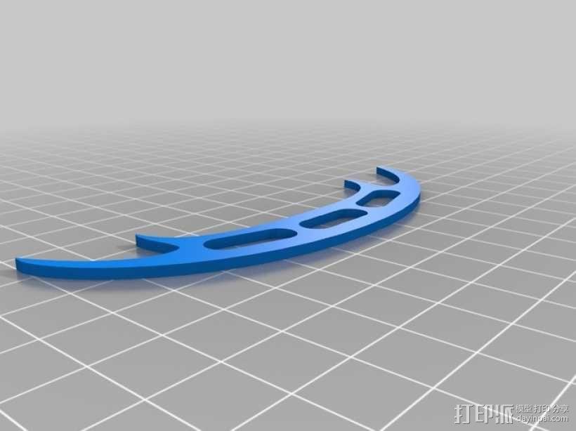蝙蝠飞镖 3D模型  图1