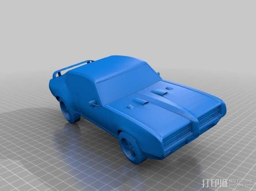 GTO Judge赛车 3D模型  图1
