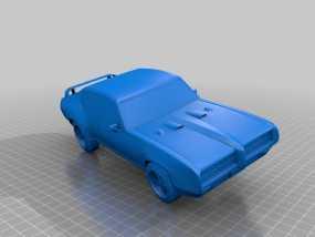 GTO Judge赛车 3D模型