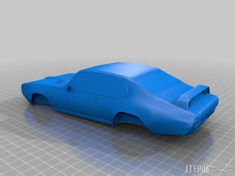GTO Judge赛车 3D模型  图2