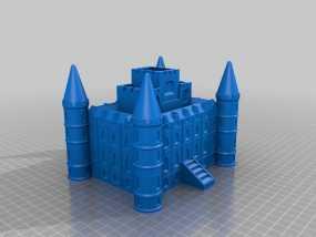Inverary 因弗拉里城堡 3D模型
